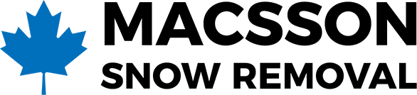Macsson Snow Removal Logo - Condominium and commercial snow removal