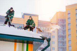 edmonton condominium roof snow removal